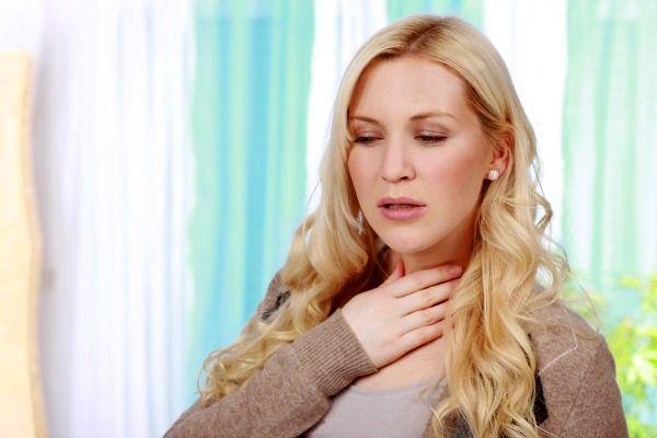 Как сделать чтобы горло покраснело как при ангине?